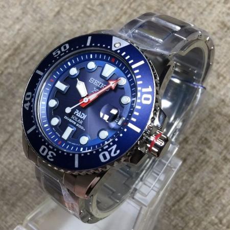 3cda53218 Seiko Prospex PADI Special Edition Solar 200m Divers SNE435P1 ...